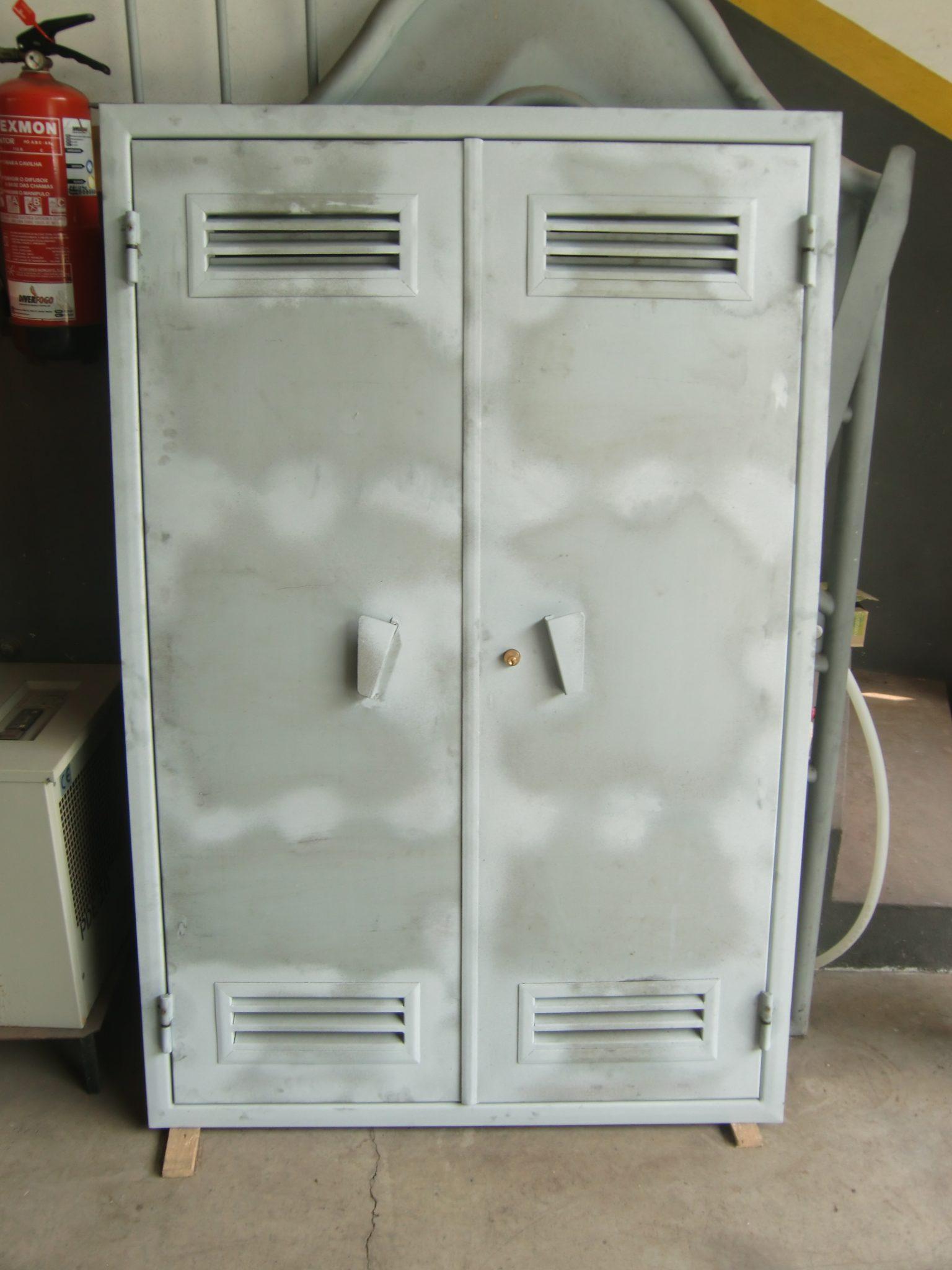 porta de gás