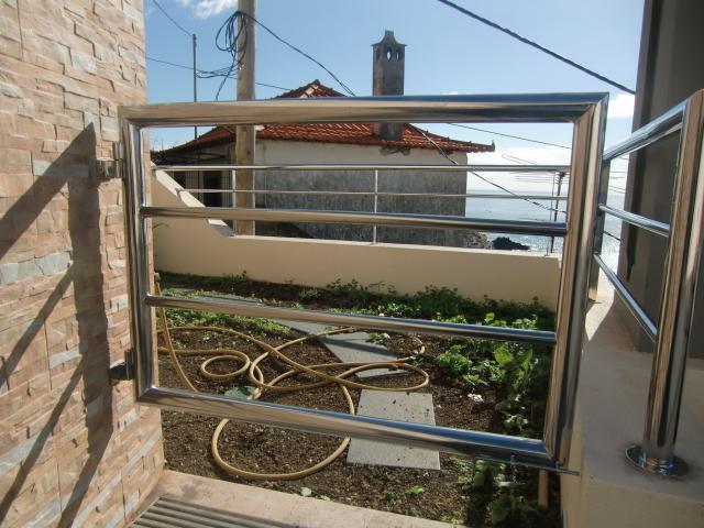 Porta e varanda